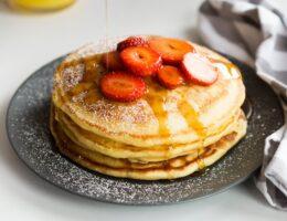 ricetta pancake fit line alla fragola proshape